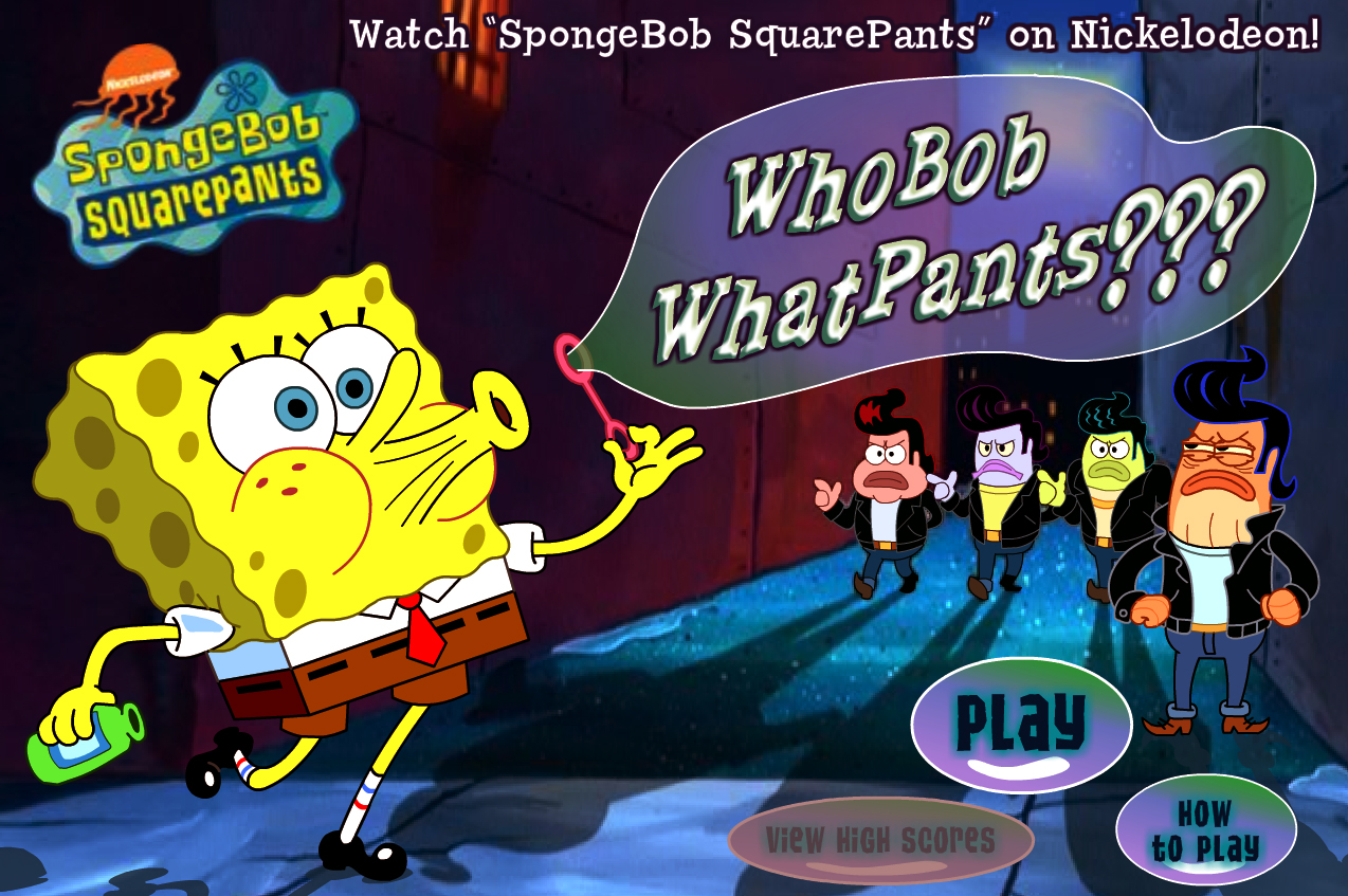 Who Bob What Pans